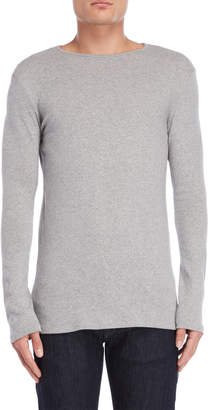Stereo Cotton Knit Pullover