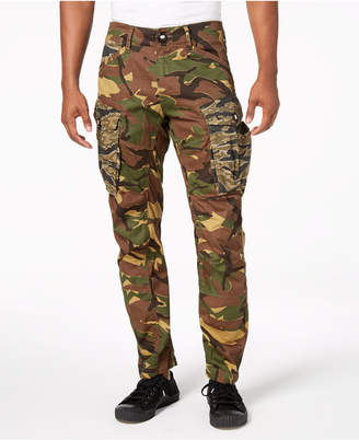 G Star Men's Rovic 3D Camo-Print Pants, Created for Macy's