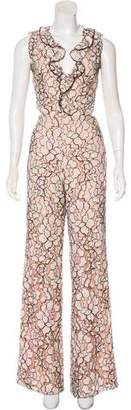 Alexis Sleeveless Lace Jumpsuit