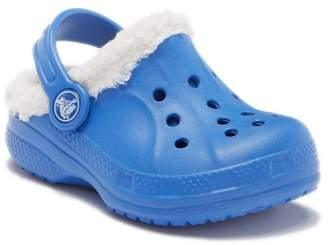 Crocs Ralen Faux Shearling Lined Clog (Toddler & Little Kid)