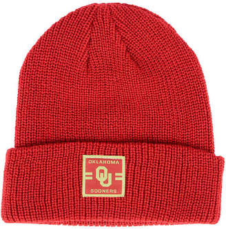 buy popular ff62b 659e3 Top of the World Oklahoma Sooners Incline Cuffed Knit Hat