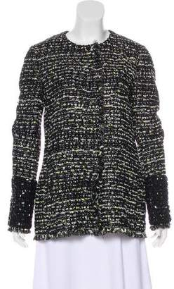 Giambattista Valli Metallic Tweed Jacket