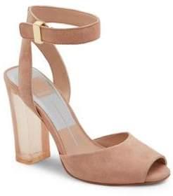 Dolce Vita Hades Suede Ankle-Strap Sandals