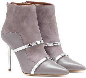 Malone Souliers Madison 100 suede ankle boots
