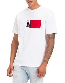 Tommy Hilfiger Lewis Hamilton Flag Logo Tee