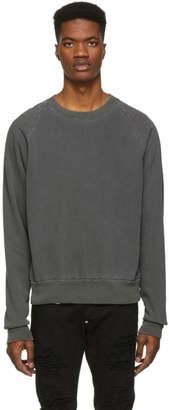 John Elliott Black Vintage Thermal Lined Sweatshirt