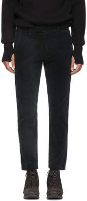Remi Relief Black Corduroy Trousers