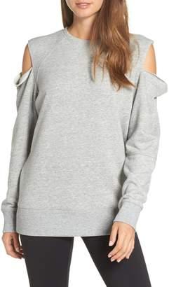 Zella Tear It Up Cold-Shoulder Tunic
