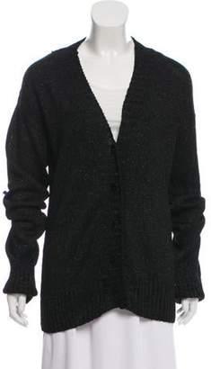 Dolce & Gabbana Button-Up Knit Cardigan Blue Button-Up Knit Cardigan
