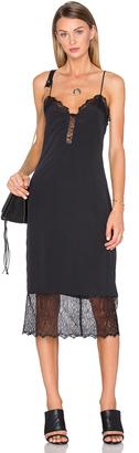 House of Harlow x REVOLVE Emma Lace Hem Slip Dress $148 thestylecure.com