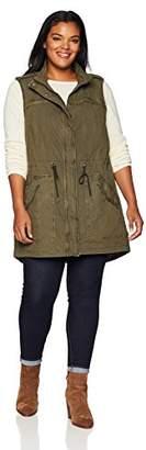 Levi's Women's Plus Size Festival Lightweight Cotton Vest