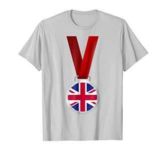 Sport Medal UK British Flag T-Shirt