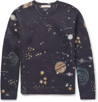 Valentino Printed Scuba-Jersey Sweatshirt
