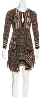 A.L.C. Printed Silk Dress