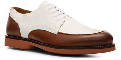Ralph Lauren Harwich Leather & Suede Saddle Oxford