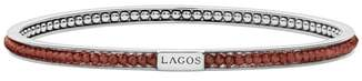 Lagos Caviar Icon Beaded Bangle Bracelet