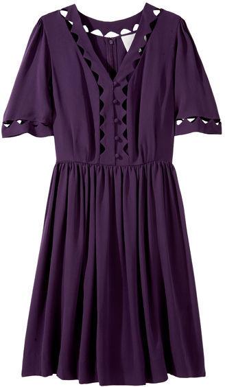 3.1 Phillip Lim Cut-Out Cloche Sleeve Dress