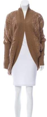 Ermanno Scervino Embellished Cable Knit Cardigan w/ Tags