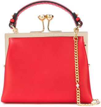 small clasp shoulder bag