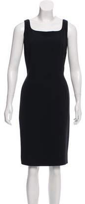 Dolce & Gabbana Sleeveless Crepe Dress