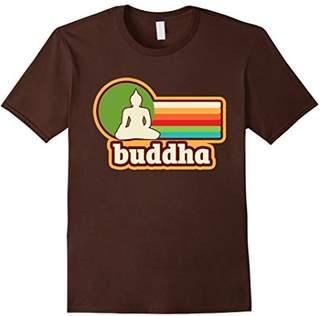 Vintage Graphic Buddha Silhouette 70's Retro T-Shirt