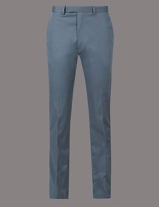 Marks and Spencer Slim Fit Stretch Cotton Chinos