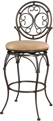 Powell Big & Tall Scroll Circle Bar Chair