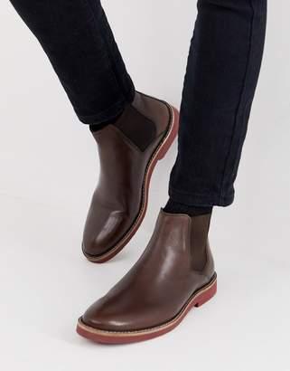 7552d95cfcf Mens Contrast Sole Boots - ShopStyle UK
