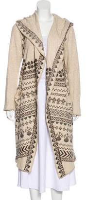 Biya Embroidered Long Coat