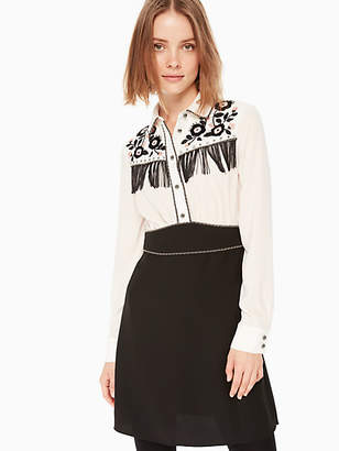 Kate Spade Western embellished dress