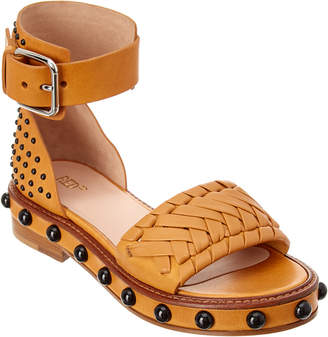 RED Valentino Studded Leather Sandal