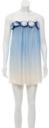 Alice + Olivia Rosette Tube Dress w/ Tags
