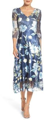 Petite Women's Komarov A-Line Dress $308 thestylecure.com