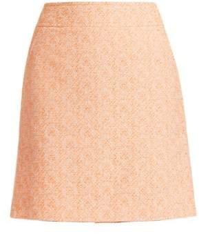 Akris Punto A-Line Tweed Skirt