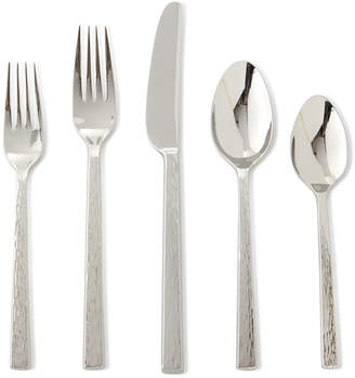 Vera Wang 5-Piece Hammered Flatware Place Setting