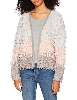 New Look Women's 5863978 Cardigan, (Grey Pattern), (Size:52)