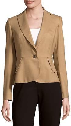 Carolina Herrera Women's Solid Peplum Jacket
