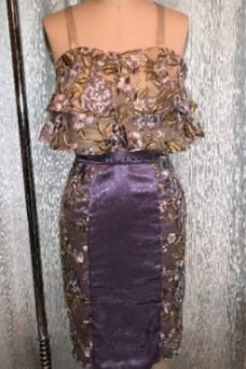 Tiny House Of Fashion Purple Floral Skirt Set