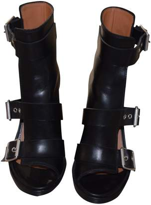 Damir Doma Leather open toe boots