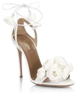 Aquazzura Wildflower Bridal Sandals