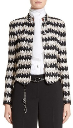 Women's St. John Collection Advik Tweed Knit Jacket $1,595 thestylecure.com