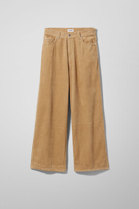 49074ce0a7ef Weekday Beige Trousers For Women - ShopStyle UK