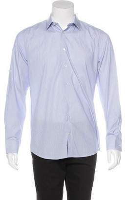 Versace Patterned Button-Up Shirt