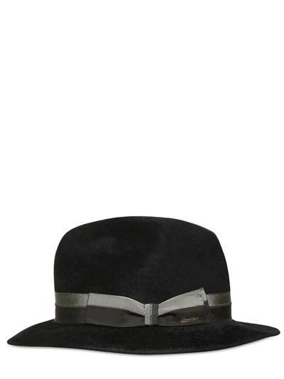Borsalino Felted Velour Hat