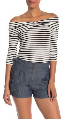 Trina Turk Paige Off-the-Shoulder Popover Top