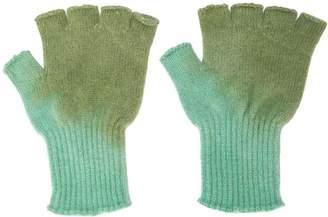 The Elder Statesman fingerless gloves