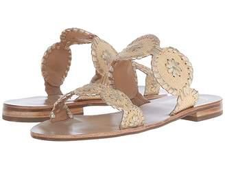 Jack Rogers Lauren Raffia Women's Sandals