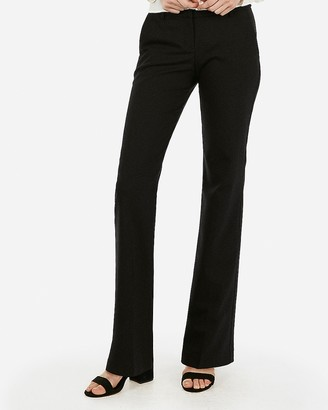 Express Low Rise Notch Flare Editor Pant