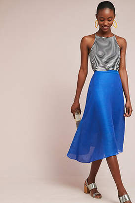 Tracy Reese Asymmetrical Midi Skirt