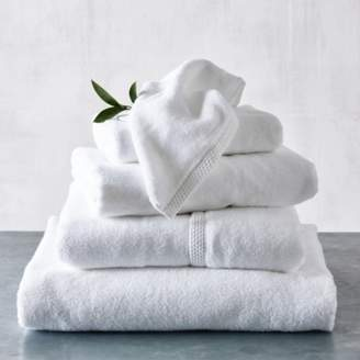The White Company Waffle Edge Spa Towels